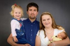 Rodinné fotky ve fotoateliéru