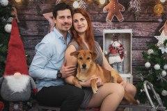 vánoční-focení-se-psem-Olomouc