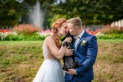 svatební-foto-se-psem-park-přerov-michalov