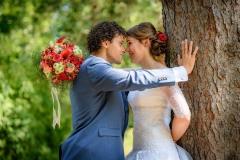 svatební-pár-u-stromu-park-michalov-přerov